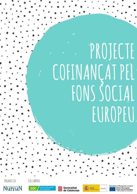 Projecte cofinançat pel fons social europeu