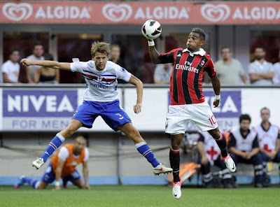 Watch Sampdoria vs AC Milan Live Stream Italian Serie A 13 January 2013