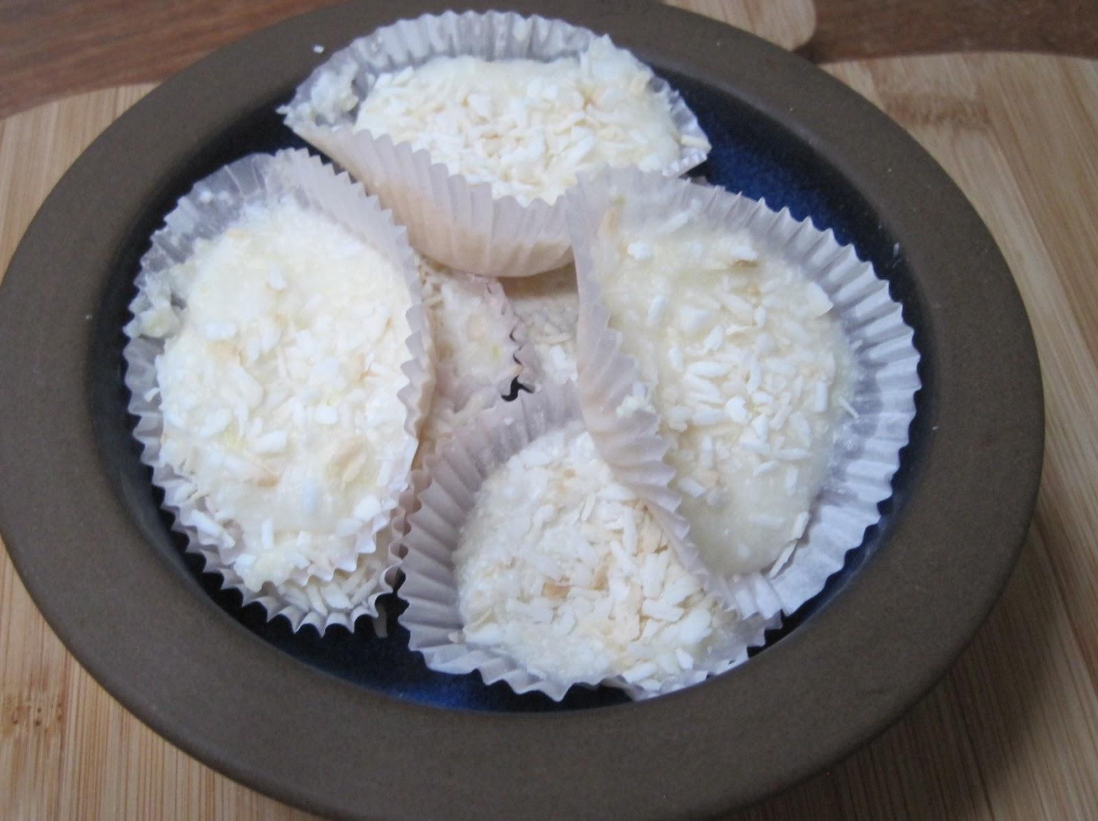 Until The Thin Lady Sings: Lemon Coconut Energy Bombs