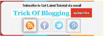 Add | Put Best Style Subscribe Box Widget/Gadget For Blogger Sidebar