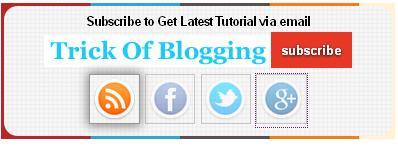Add | Put Best Style Subscribe Box Widget/Gadget For Blogger Sidebar