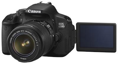 Canon EOS 650D Rebel T4i DSLR User Manual Guide