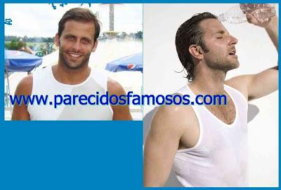 Actor Brasileño Henri Castelli y Bradley Cooper