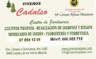 VIVEROS CADALSO