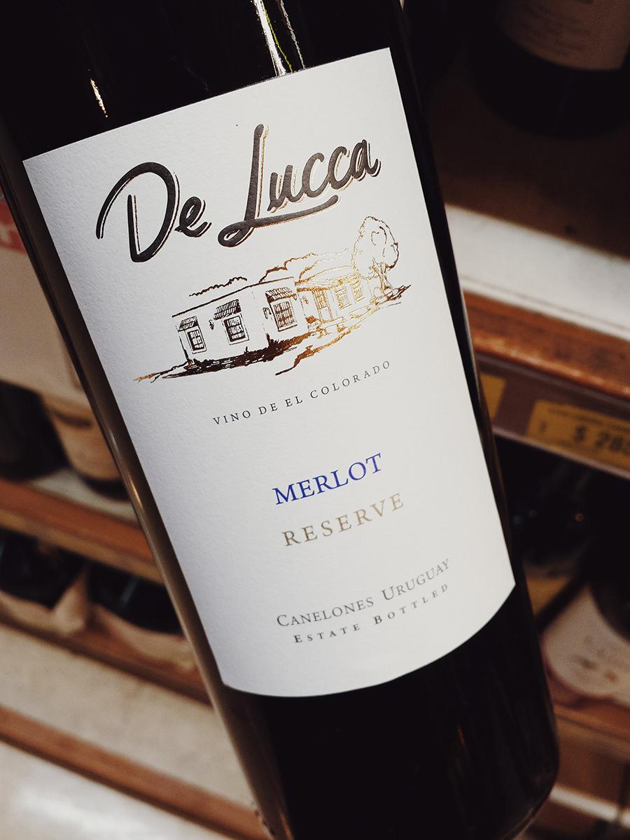 vinhos uruguaios merlot de lucca