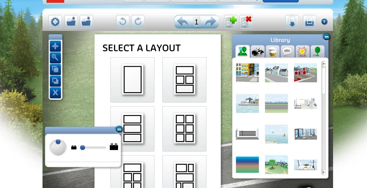 Legoreve logiciel gratuit en ligne lego comic builder for Logiciel architecture gratuit en ligne