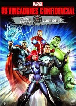 Filme Os Vingadores Confidencial Viuva Negra & Justiceiro