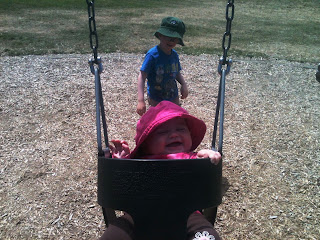 Father's Day Wrap: Coffee, Kids, Swinging, and Beer
