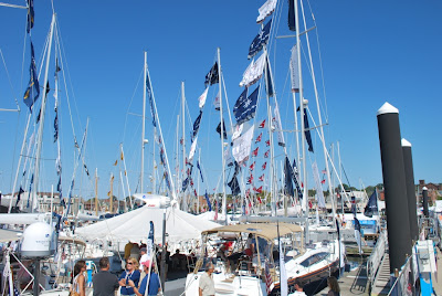 Newport Boat Show flags