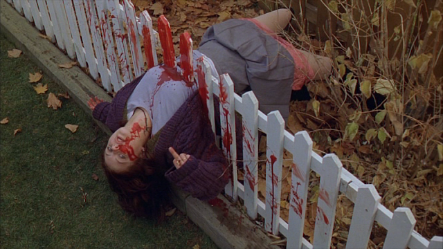 GINGER SNAPS: Katharine Isabelle as Ginger Fitzgerald in one of the sisters' death scenarios