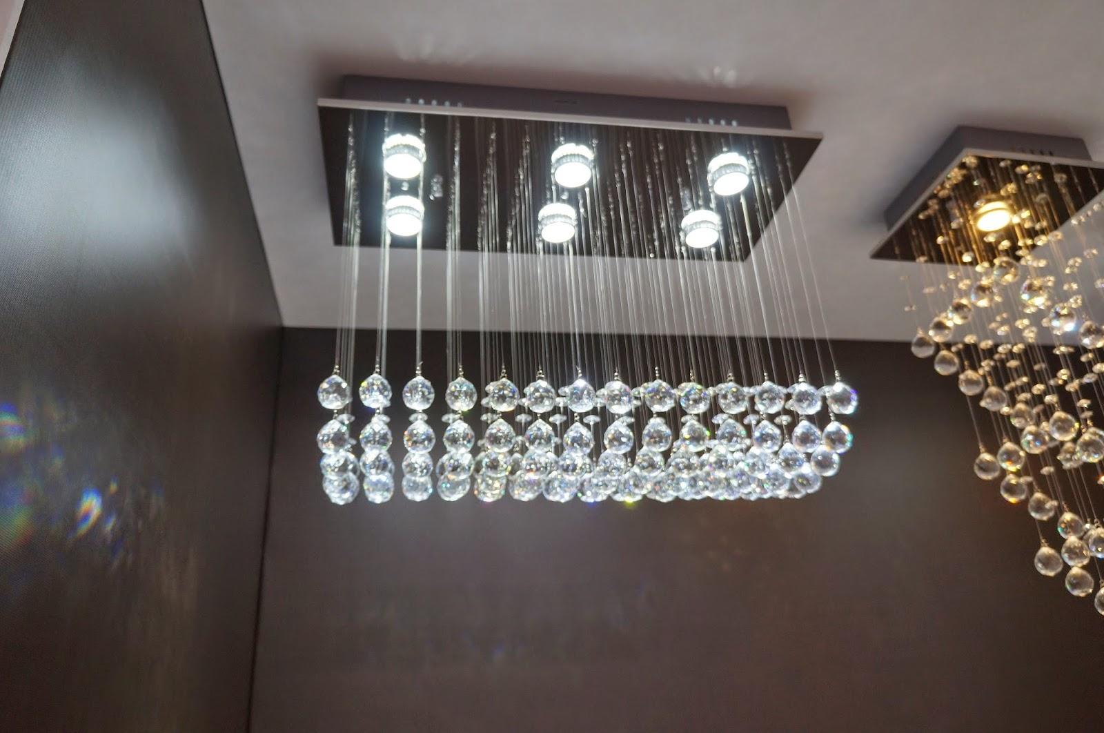 pendente de cristal -  Kin Company - Expolux 2014