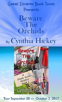 Cynthia Hickey: here 10/1/17