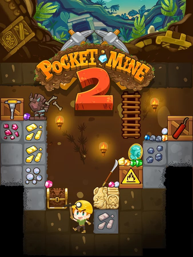 Pocket Mine 2 v1.8.0.4 Mod [Unlimited Money]