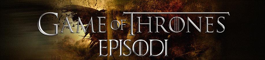 Game of Thrones Episodi