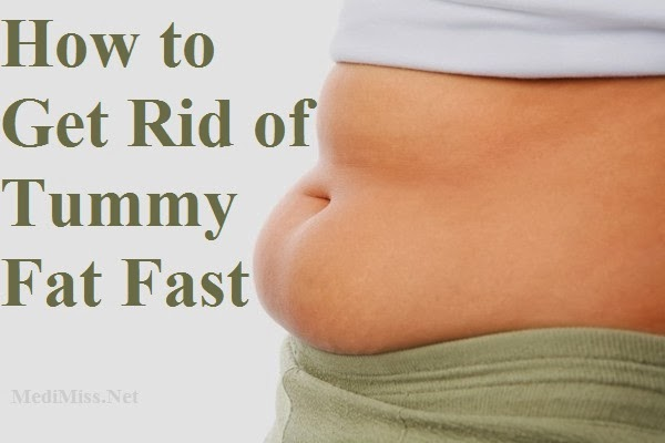 Get rid of tummy fat fast exercises