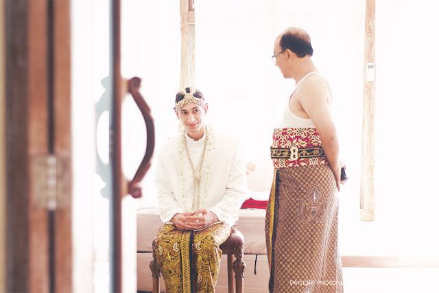 pernikahan tradisional adat jawa damien dan natami di java village resort yogyakarta