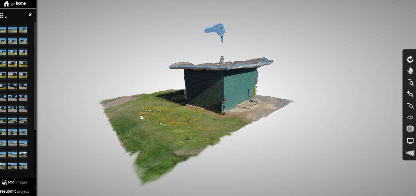 Pump Station - 3D Mesh