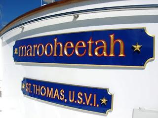 placa nome de barco