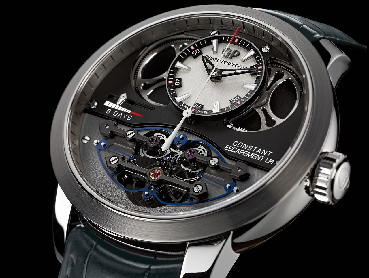 Girard-Perregaux Constant Escapement L.M. Mechanical Watch