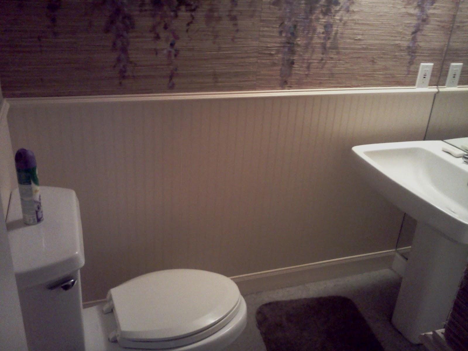 Houston Handyman Bathroom Wainscoting