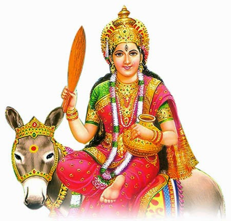 Mata Sheetla is worshiped on the day of Basoda for healthy life.