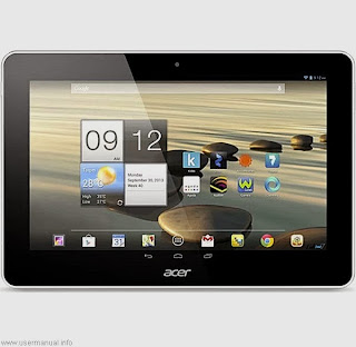 Acer Iconia Tab A3-A10 user guide manual