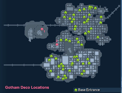 Gotham Deco Base Locations