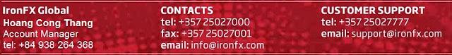 IronFX Việt Nam