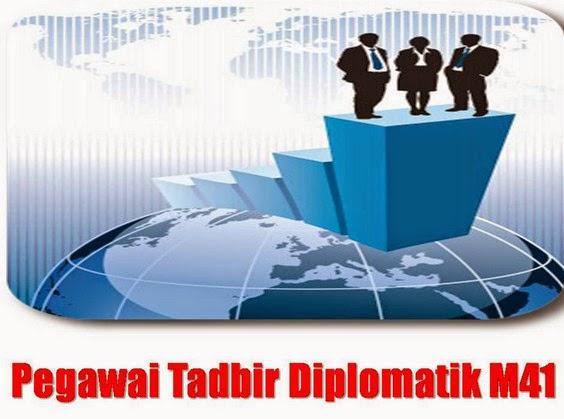 Peperiksaan online Pegawai Tadbir Dan Diplomatik M41