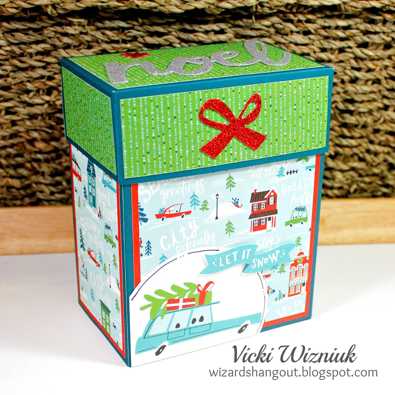 Large Card Box Tutorial $4