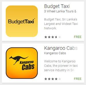 Budget Taxi and Kangaroo Cabs Sri Lanka