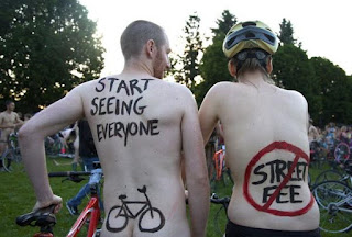 2015 World Naked Bike Ride Portland, naked bike ride LA, bike ride, nude bike ride