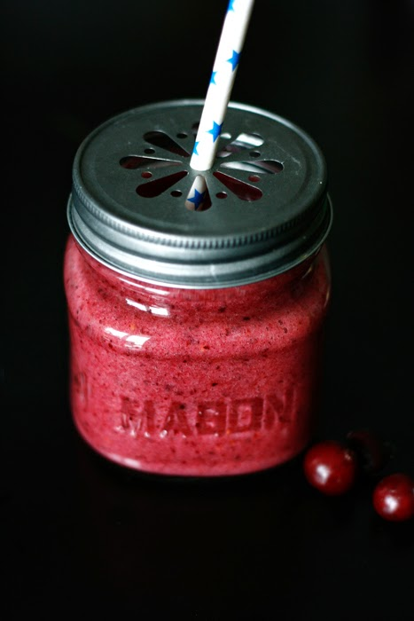 Cranberry-Aronia-Smoothie