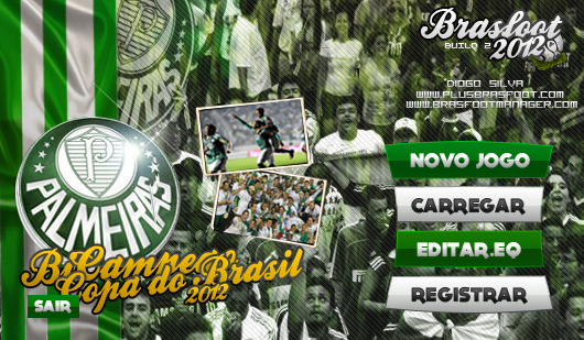 Skin Palmeiras Bicampe  O Da Copa Do Brasfoot 2012     Brasfoot 2012