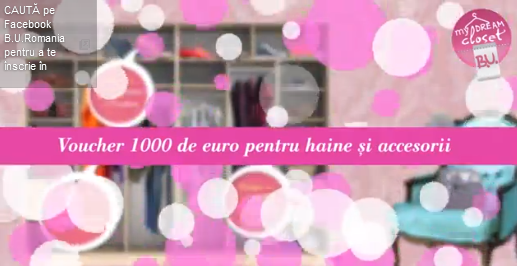 Concurs BU Romania 2014 - creeaza-ti propriul Dream Closet si castiga!