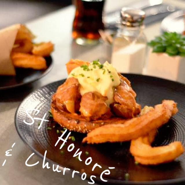 Saint Honoré Churros Privé de Dessert Miam Homemade Fait Maison