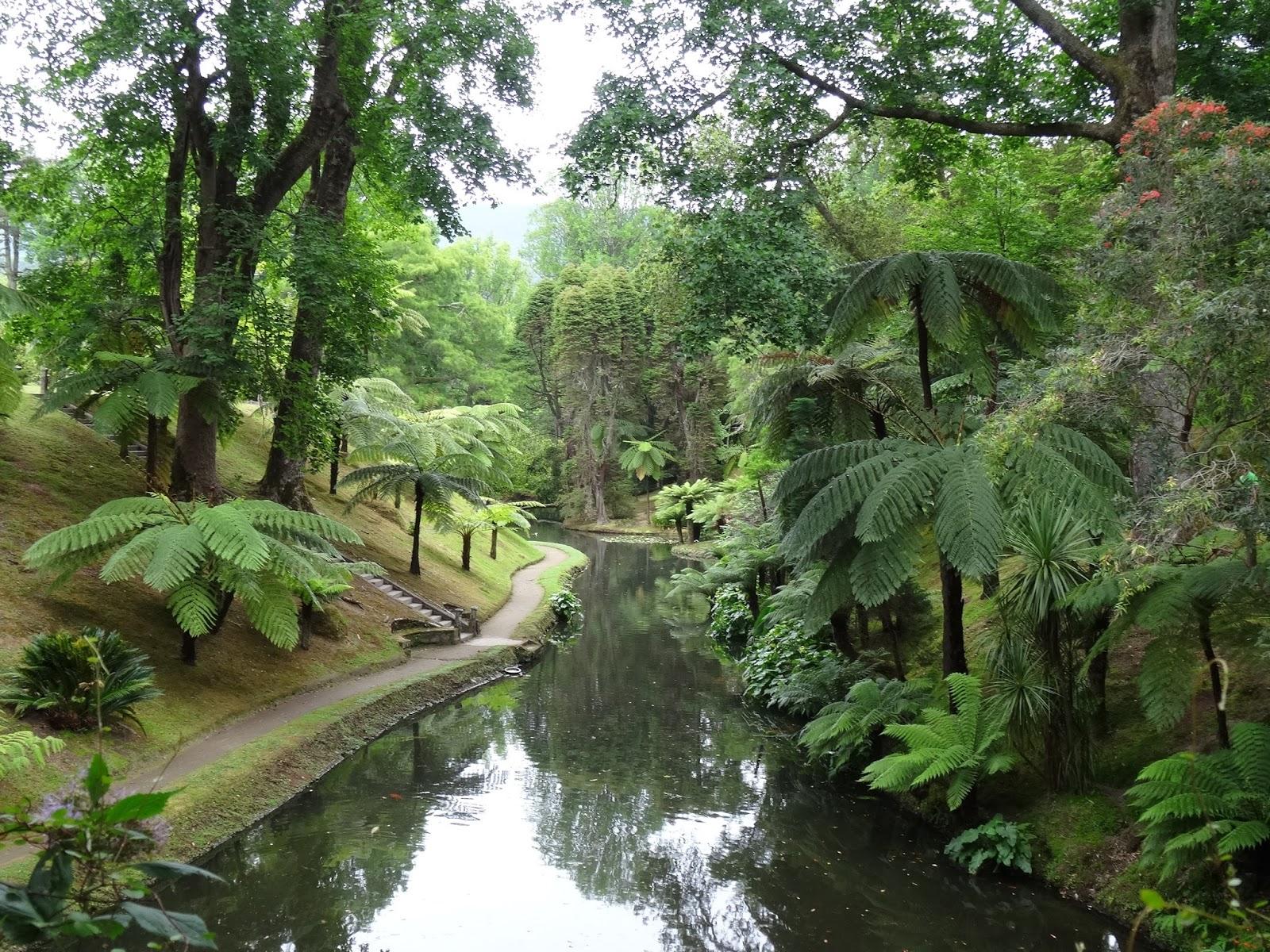 Let me show you azores parque terra nostra furnas s o miguel - Enorme terras ...