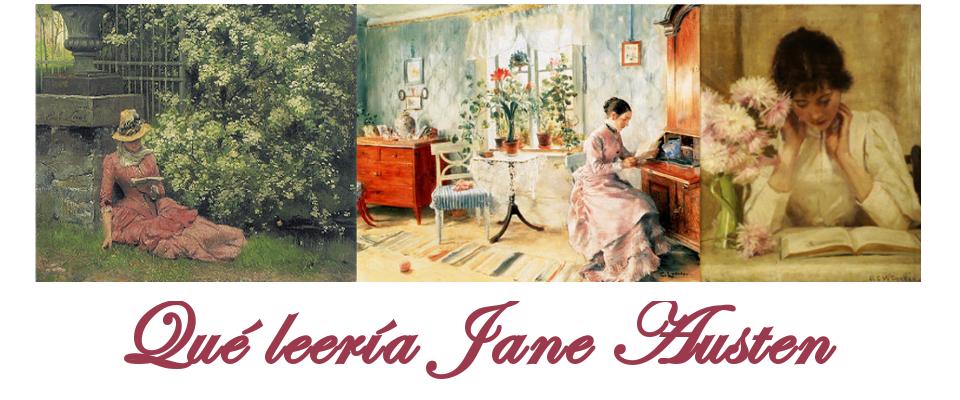 Qué leería Jane Austen