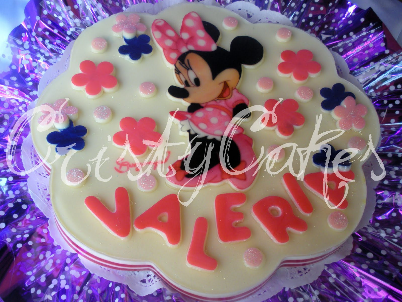 Cristy's Cakes: MInnie Mouse