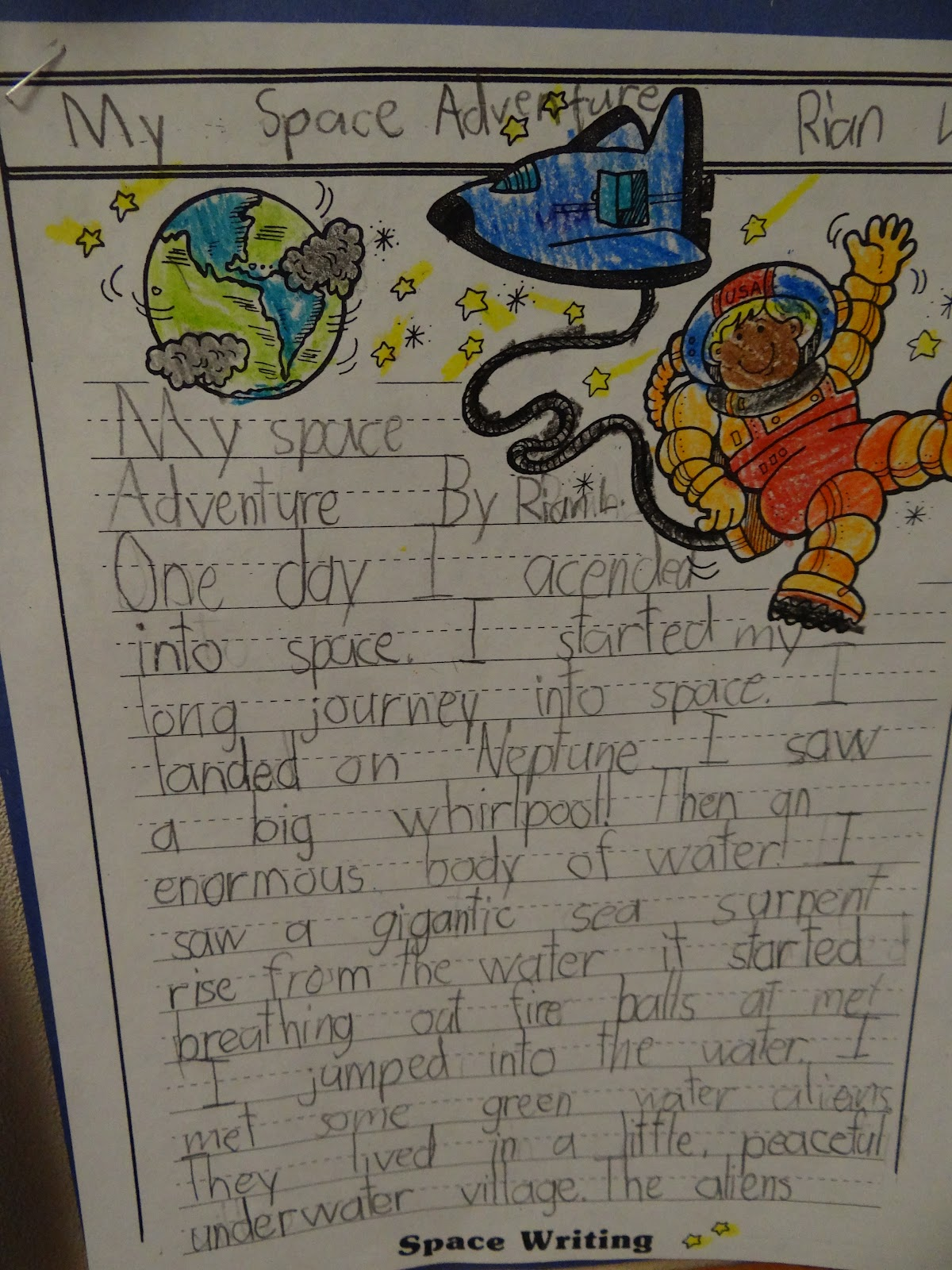solar system essay questions for kids