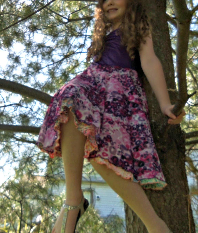 Fun Dresses For Girls Twirlygirl 174 Reversible Twirly Racer