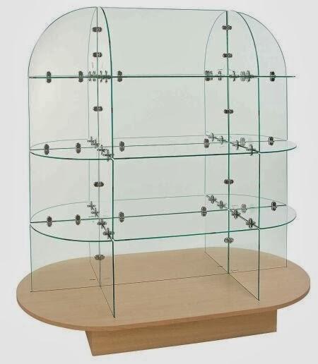 Estantes Metalicos Para Baño:Estantes de Vidrio