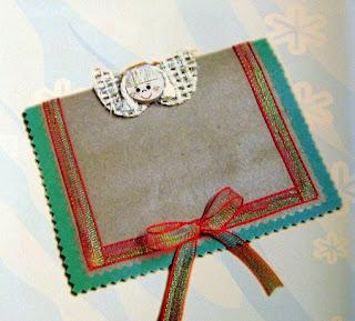 Tarjeta de navidad paso a paso manualidades con papel - Manualidades de navidad paso a paso ...