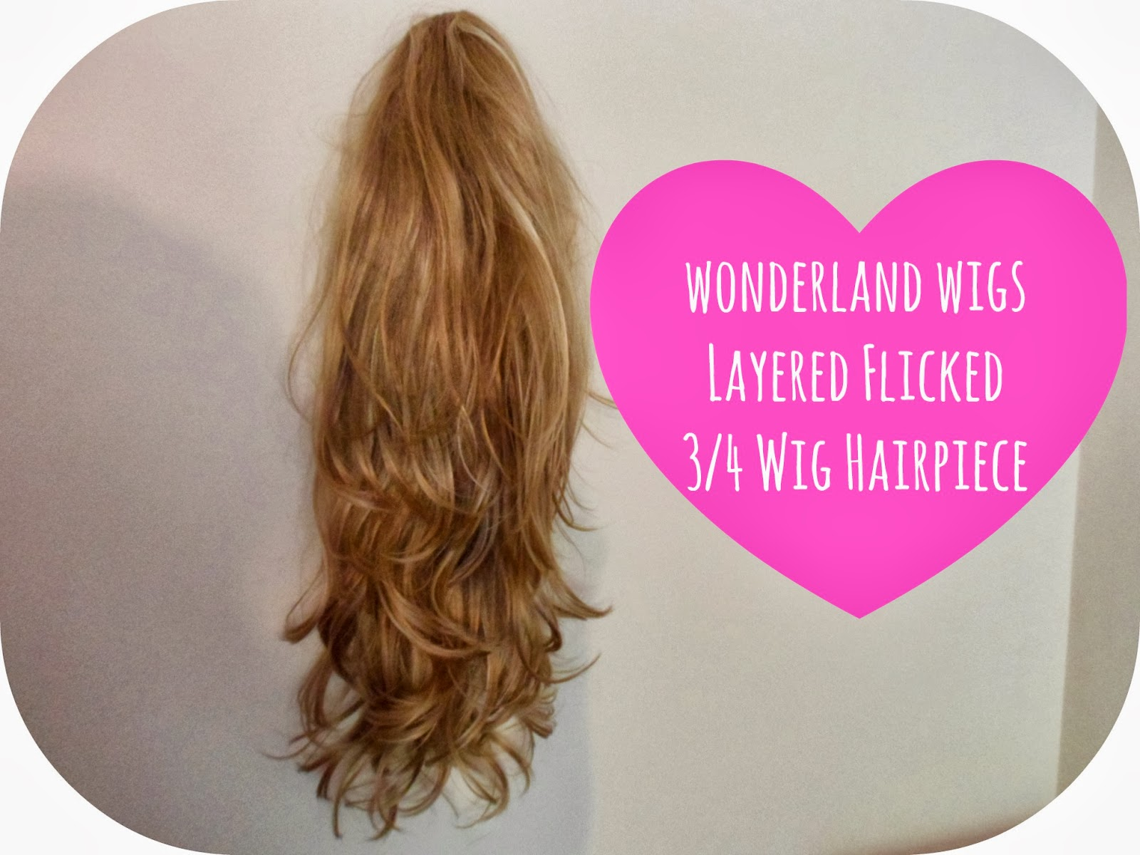 Fabulous Hair In Seconds With Wonderland Wigs Aloha Kirstie