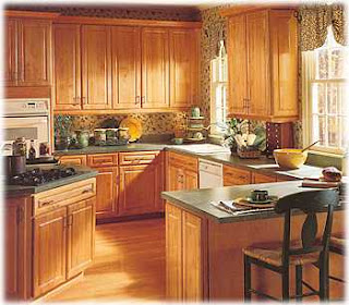 Wooden Kitchen Cabinet Picture
