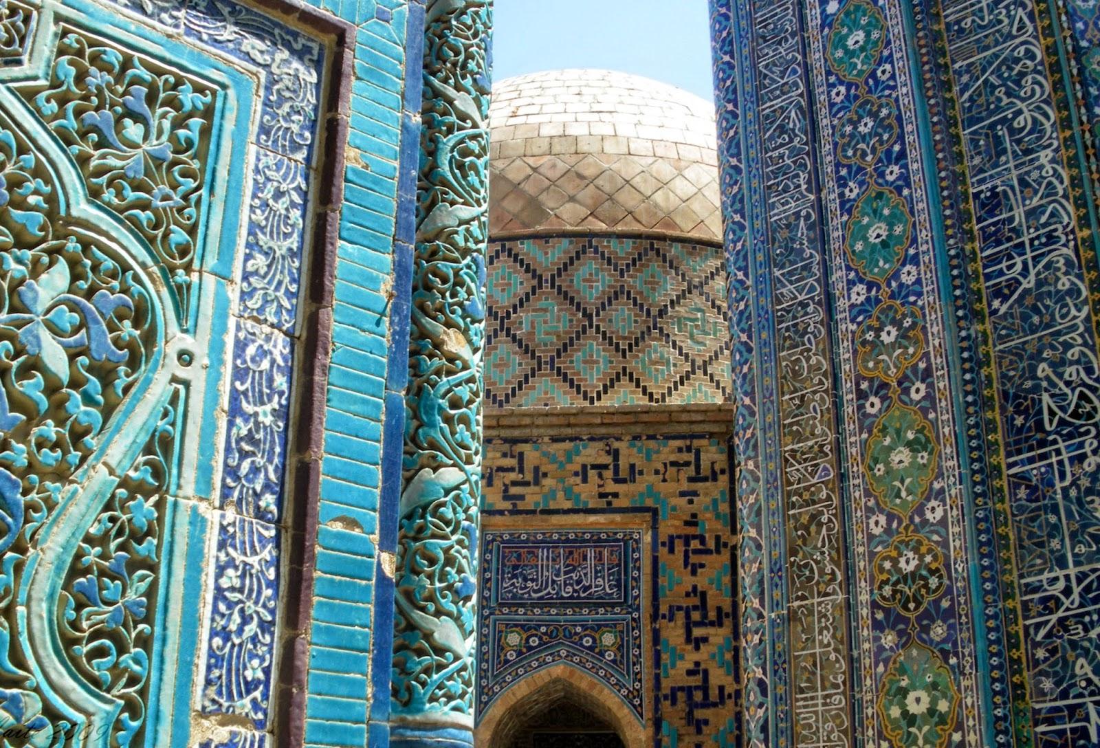 En busca de los n madas for Samarkanda el tenedor