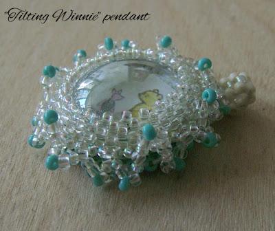 ClearlyHelena - handmade pendant