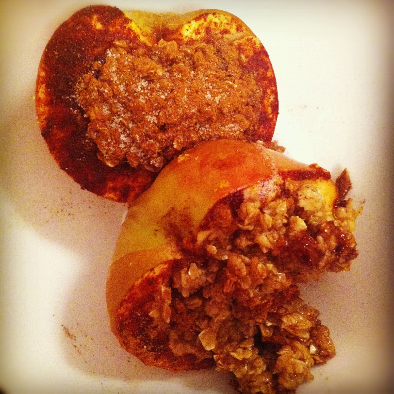 Chelsea's Choice: Healthy Baked Stuffed Apples