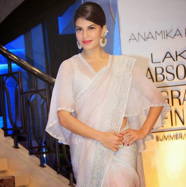 Jacqueline latest photos at anamika khanna show lfw 2015