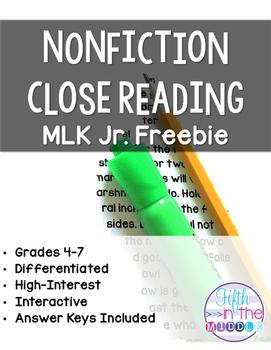 https://www.teacherspayteachers.com/Product/Martin-Luther-King-Jr-1625211